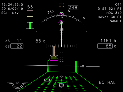 Hover-Approach-Takeoff (HAT) page
