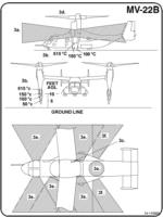 MV-22B aircraft danger area