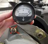 Magnetic field indicator