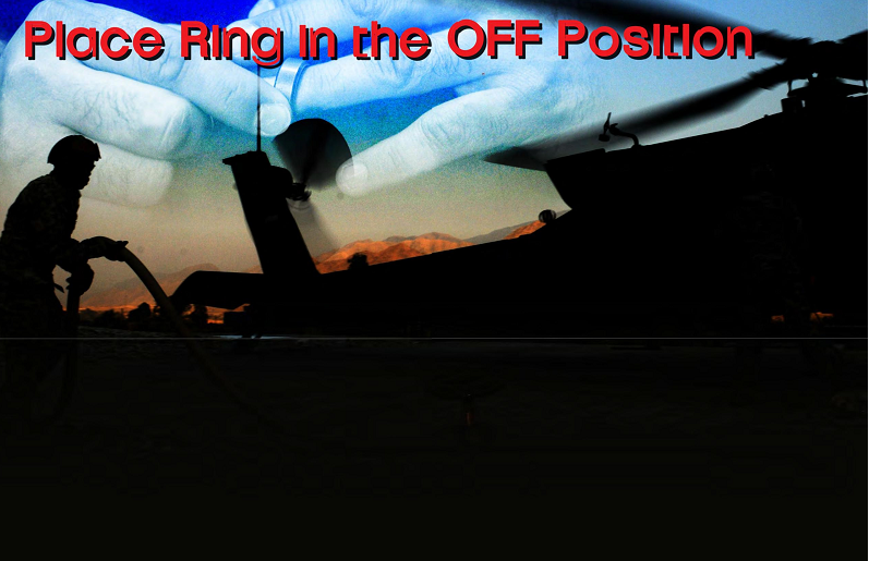 Place Ring in the OFF Position